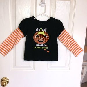 Pumpkin in the Patch Long sleeve Top 24 mo